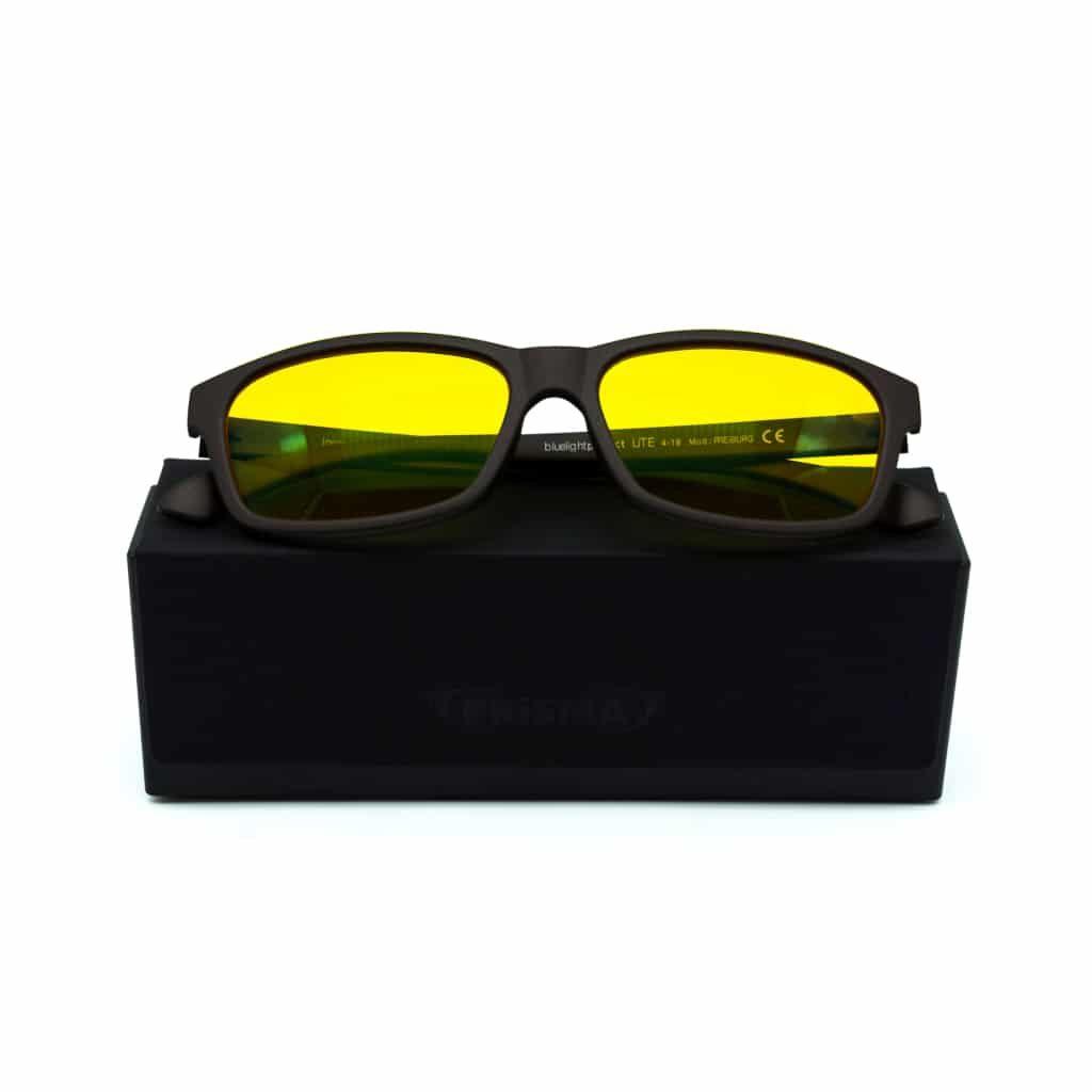 Blaulichtfillterbrille